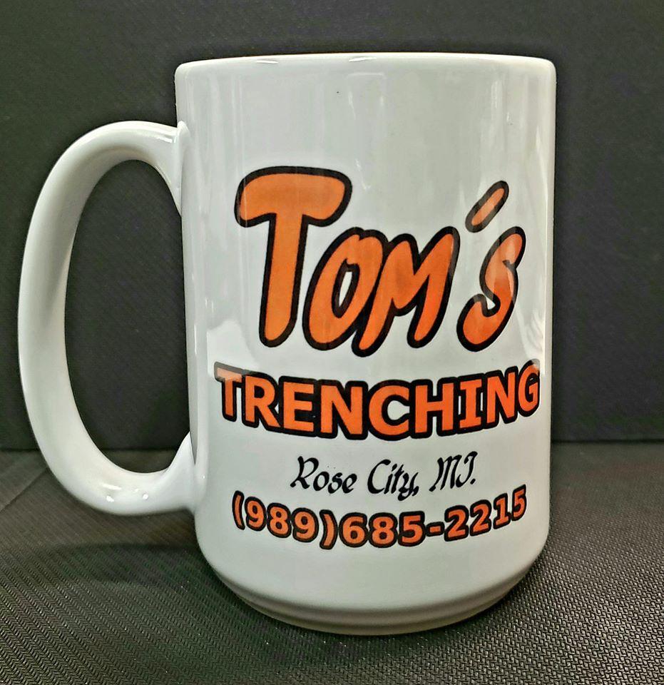 15 oz Custom Coffee Mug